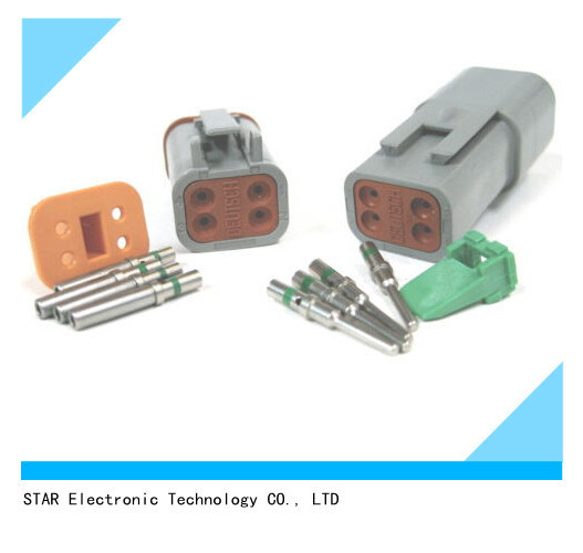 Waterproof Dt Series Connector Deutsch Auto Connector