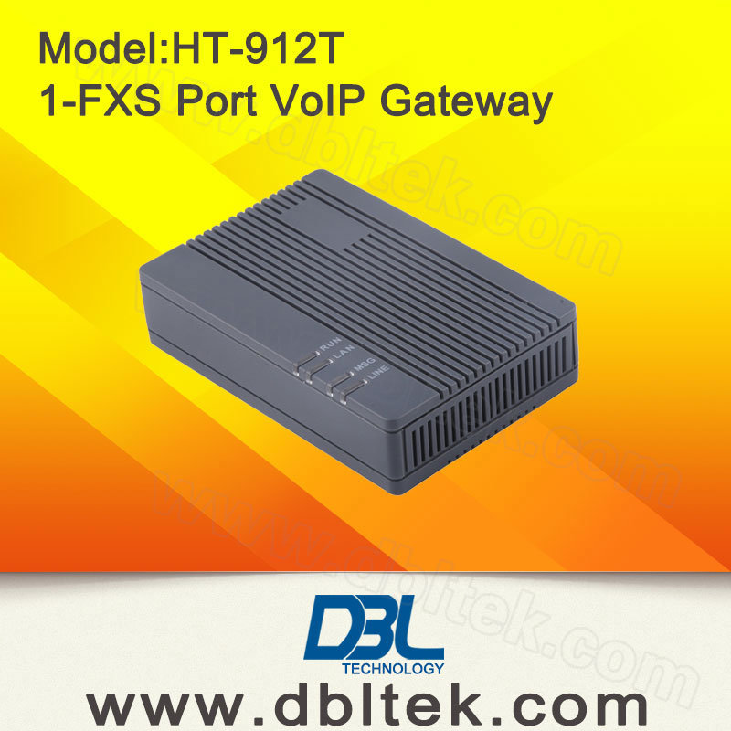 1-FXS Port VoIP ATA Gateway Support Fax (HT912T)