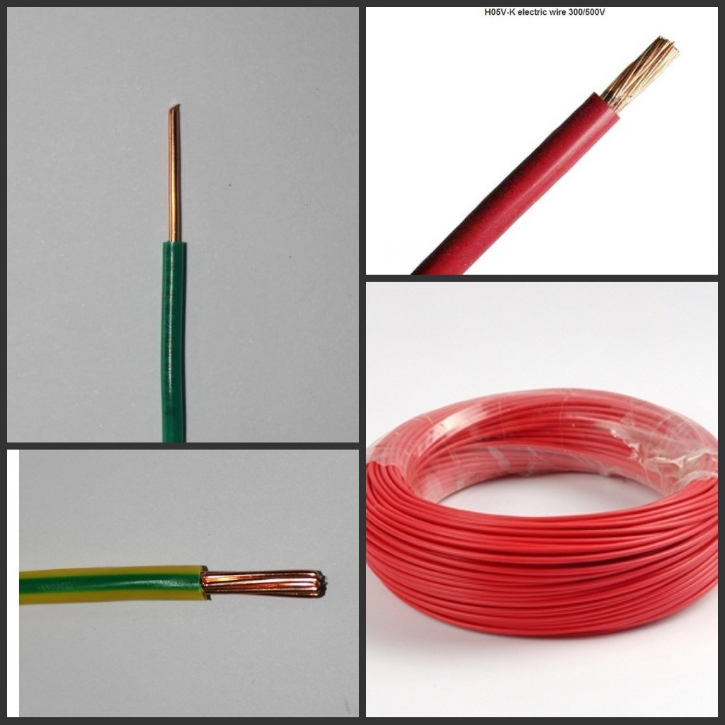 Electrical Cable Product : China h v u r k pvc insulated electrical