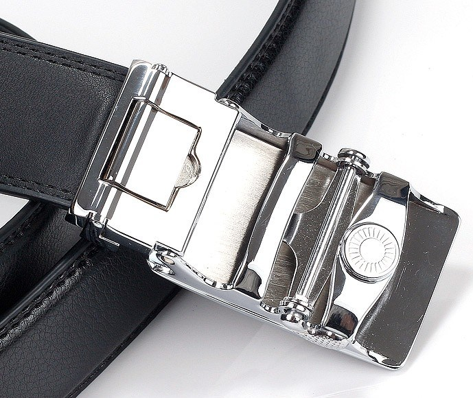 Men Ratchet Leather Belts (A5-140411)