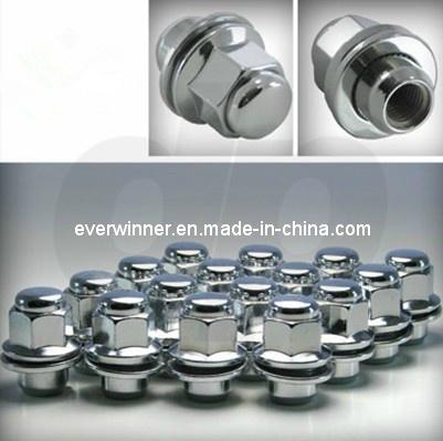 Chrome /OEM Wheel/Lug Nuts, Mag Seat, Qty 20