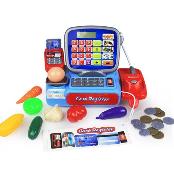 Newest Electric Childrens Cash Register Toy