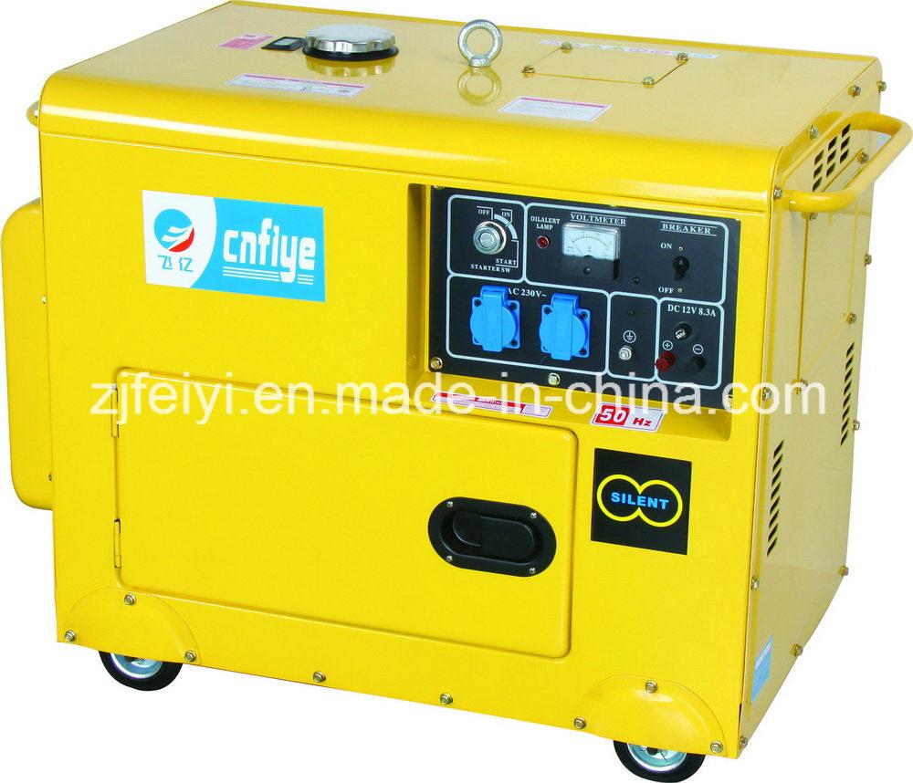 Fy5500dg Diesel Silent Generator with 186fa Engine
