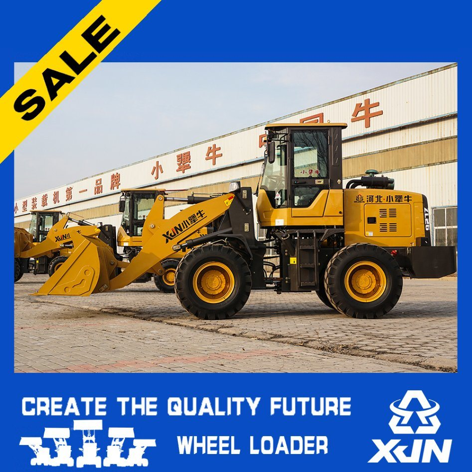 Brand New Small Wheel Loader 1.6ton/0.8m3 Wheel Loader with Yanmar Engine