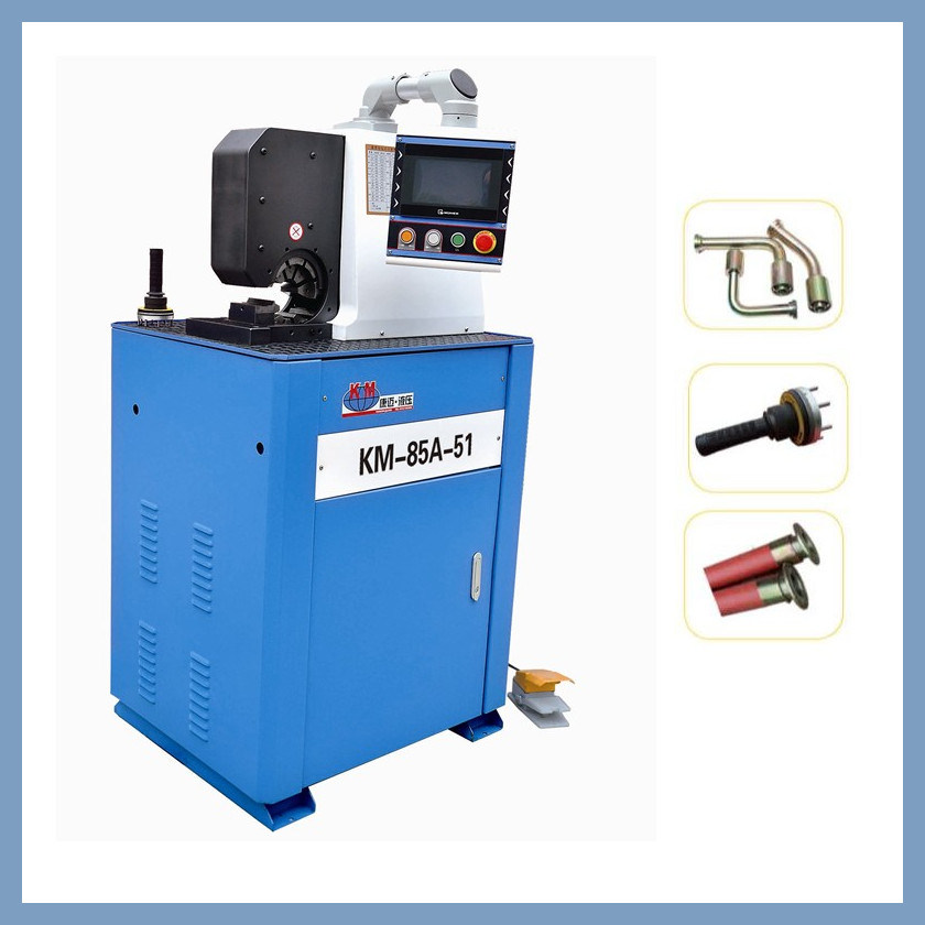 Side Open Hydraulic Hose Crimping Machine Crimping Car Air-Condition Hose