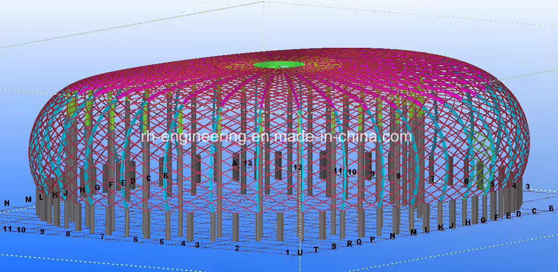 Steel Structure of Gymnasium