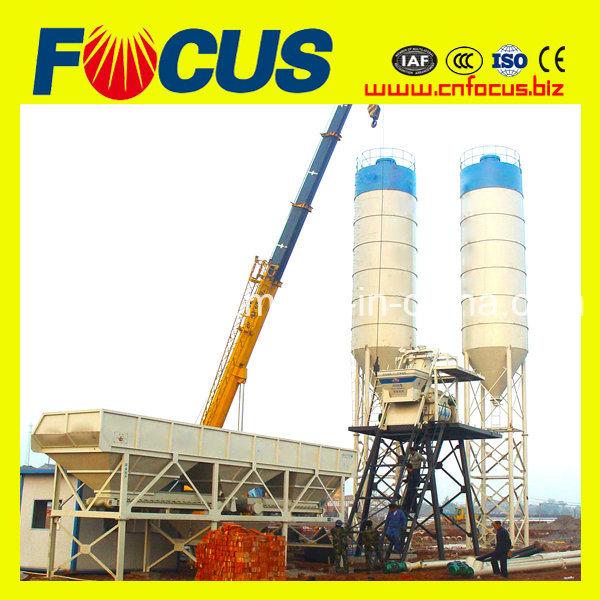 Hzs50 50m3, 50cbm, 50cum, 50t/H Concrete Mixing/Batching Plant for Sale