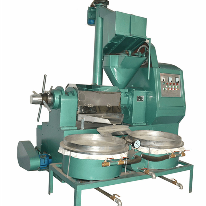 Automatic Sunflower Seeds Oil Expeller