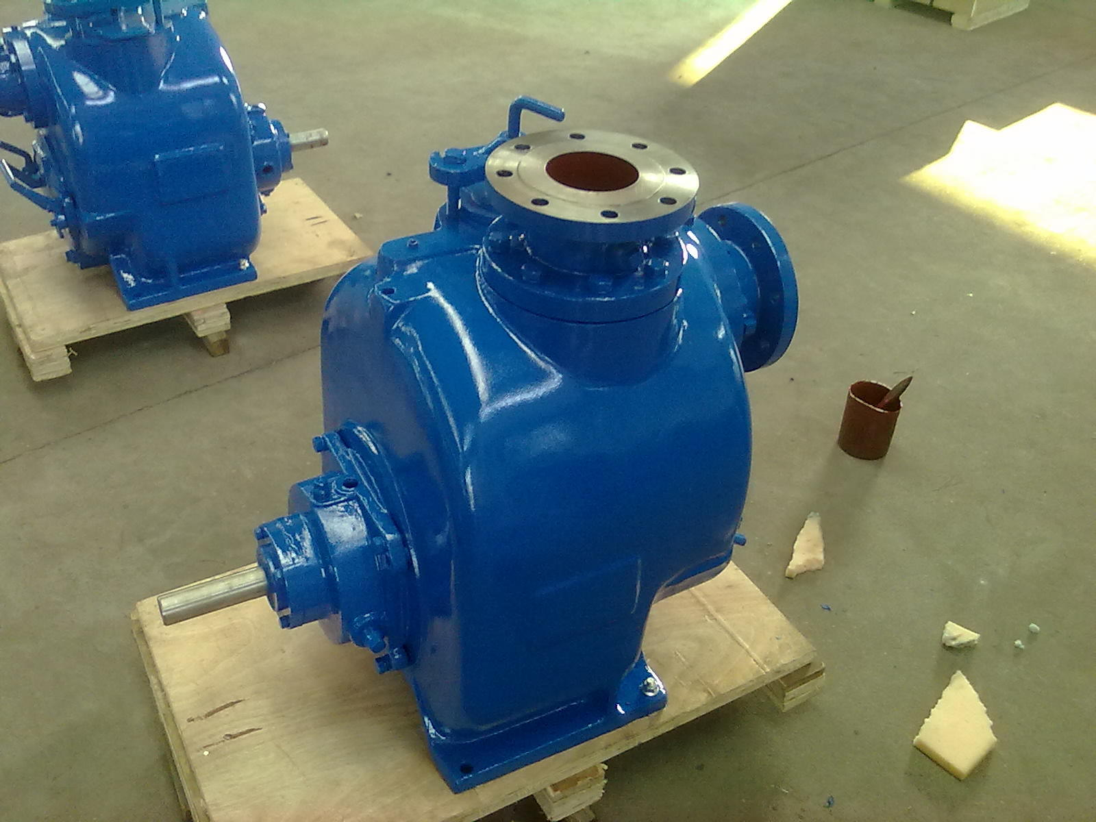 Super T Series Self-Priming Trash Pump