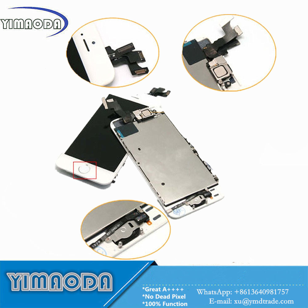 Original LCD for iPhone 5s LCD Touch Screen with Small Parts
