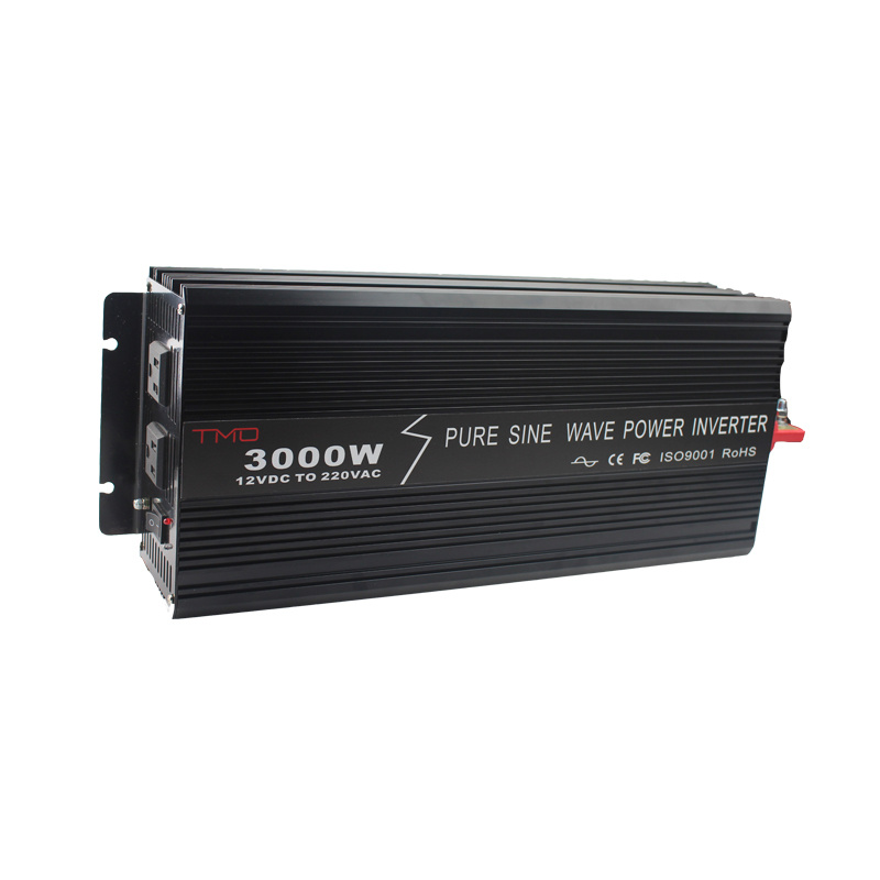 3000W Power Inverter DC 12V to 110V AC Converter with Dual USB Output