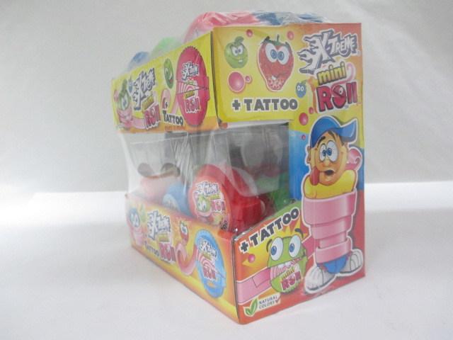 X Treme Tattoo Inside Mini Roll Gum
