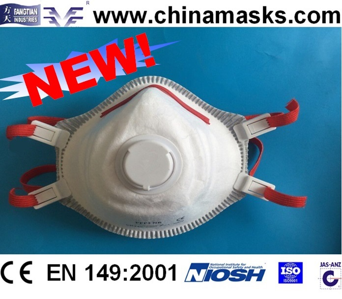 Dolomite Clogging Test Passed Dust Mask Face Mask CE Respirator