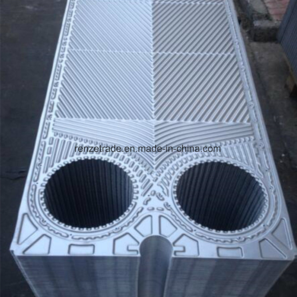 Titanium, Hastelloy High Temperature Resistance Plate for Alfa Laval Equivalent Plate