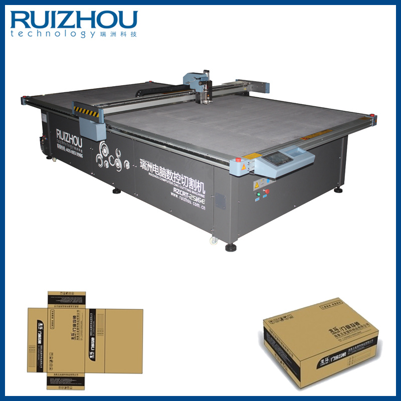 CNC Corrugated Board Box Sample Cutting Machine