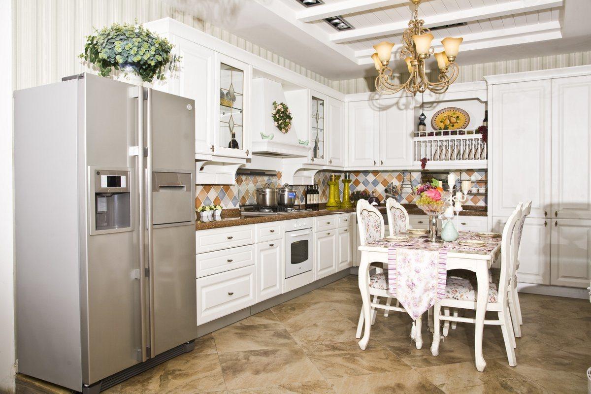 Cabina de cocina blanca cl sica agk 012 cabina de for Gabinetes de cocina blancos