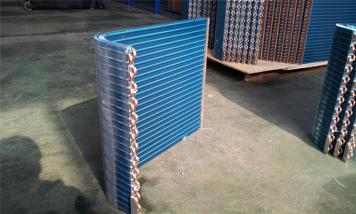 Air Handling Unit Condenser Coils Ahu Heat Exchanger
