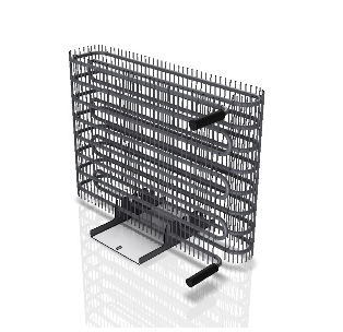 Wire Condenser for Commercial Refrigeration