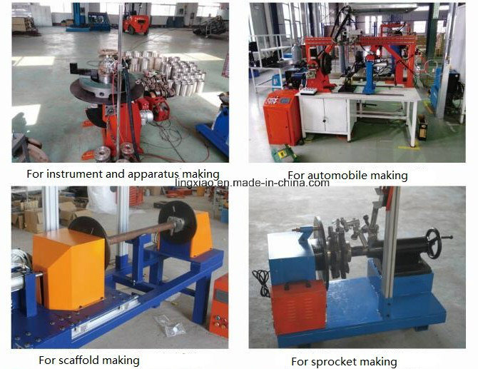 Digital Display Welding Positioner Hbt-30 for Circular Welding