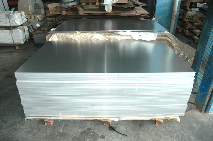 1050 1060 1100 Aluminum Sheet with Blue Film Covered
