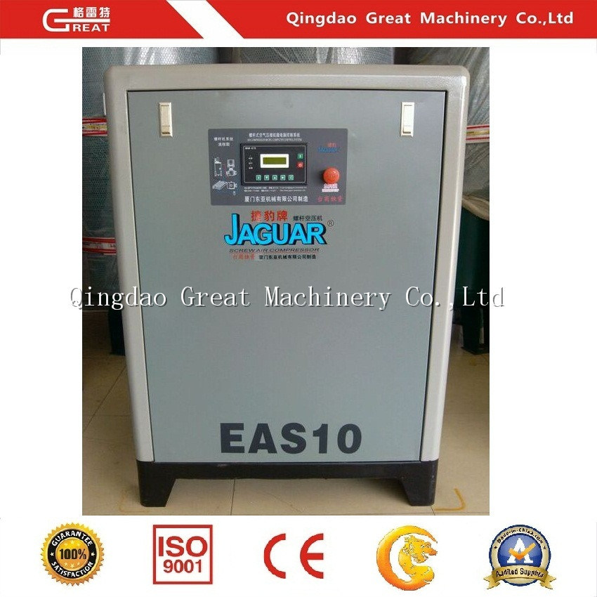 Air Compressor as Auxiliary Machine for Blow Molding Machine