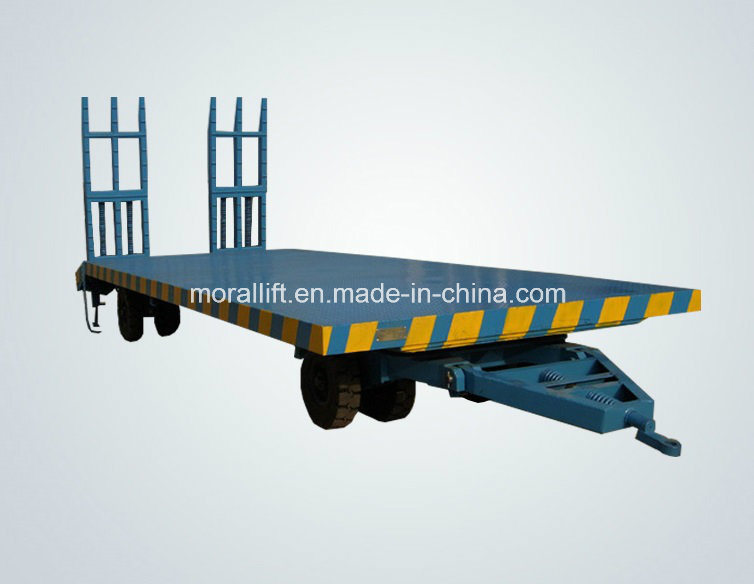 Heavy Load Industry Towed Trolley