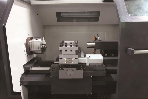 High Rigidity CNC Turning Lathe Machine for Big Part Processing