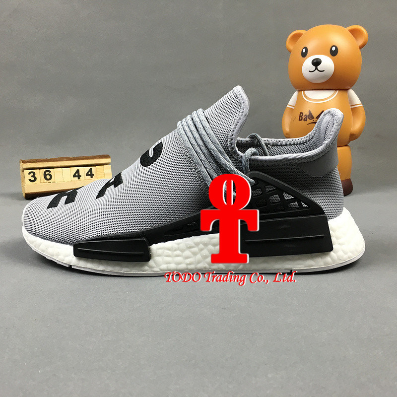 Pharrell Williams Hu Human Race Nmd X off White Brand Primeknit Camo Mens Running Shoes Originals Nmds Runner Sports Shoes