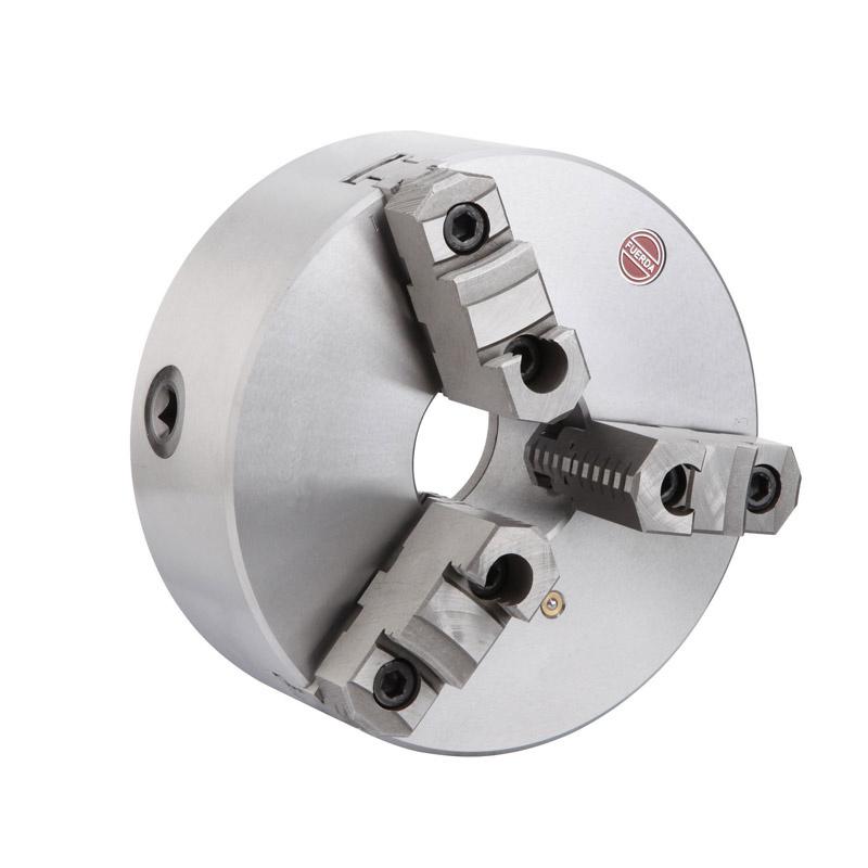 Steel Body 3-Jaw Self-Centering Chucks, DIN 6350