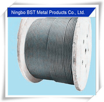 4*26ws Hanging Basket Steel Wire Rope