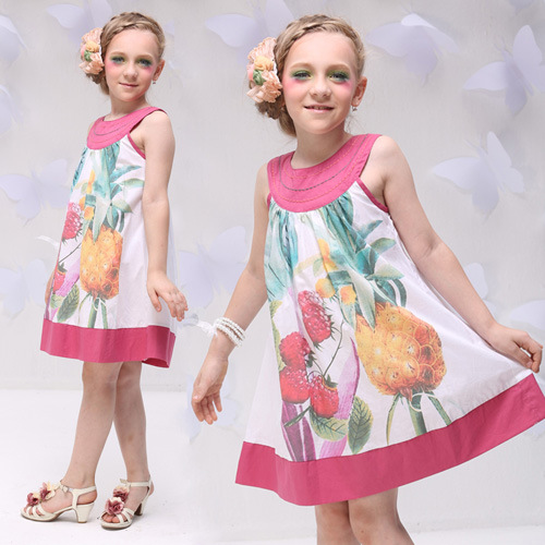 Design Small Girl Dress