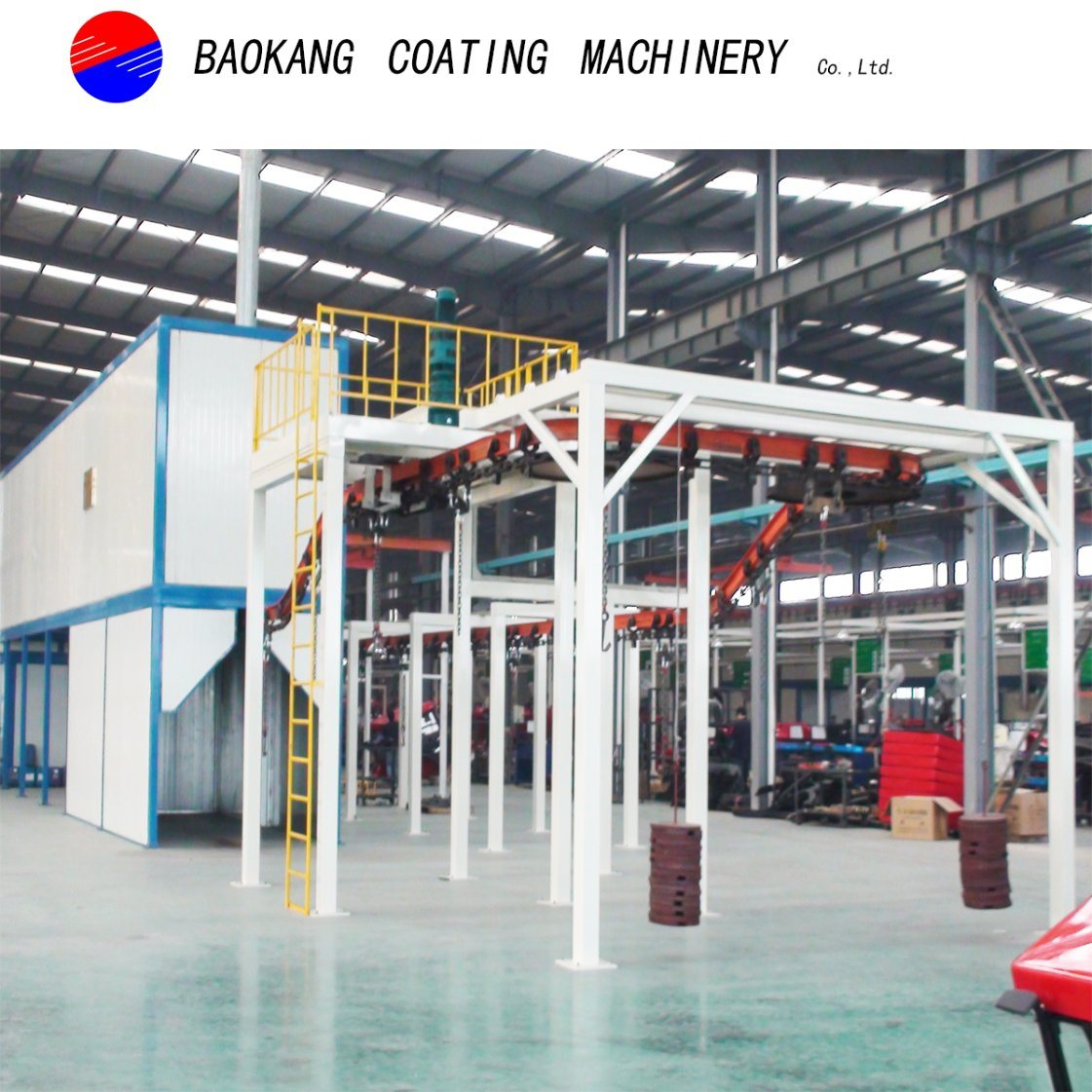 Automatic Powder Coating Equipment