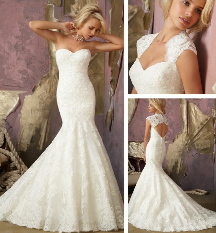 China Sweetheart Neckline Mermaid Wedding Dress Xz723