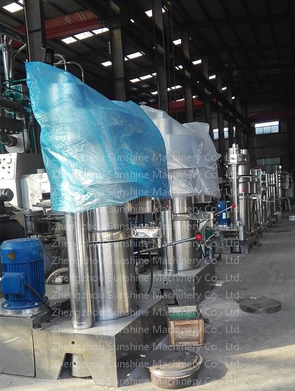 45kg Cocoa Pumpkin Extraction Hydraulic Cold Mini Oil Press Machine