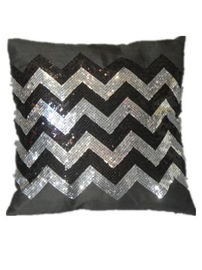 Decorative Pillow Case Sr-C170223-12 High Fashion Sequin Decorative Cushion