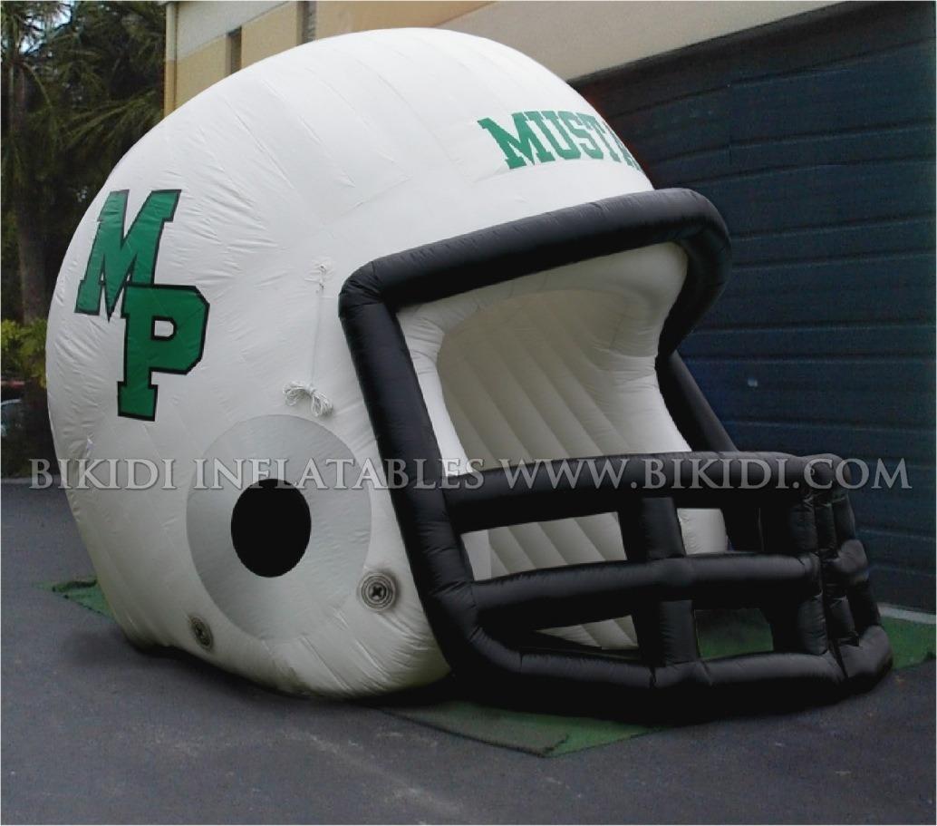 Inflatable Helmet Tunnel /Inflatable Helmet /Inflatable Sports Tunnel B7014