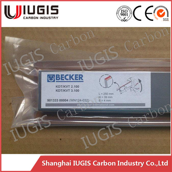 Ek60 Carbon Vanes for Becker/ Rietschel/Orion/Gast Vacuum Pump China Supplier