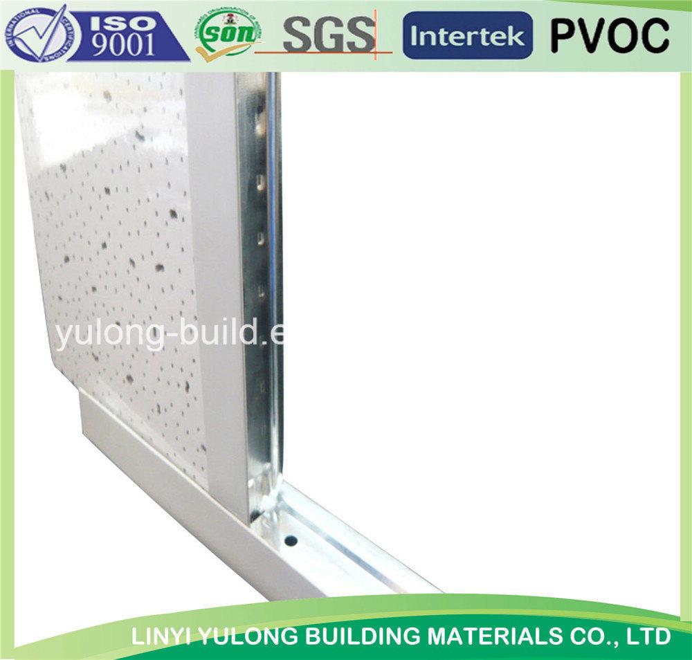 Suspended Ceiling T Bar/T Grid for Mineral Fiber Ceiling Tile
