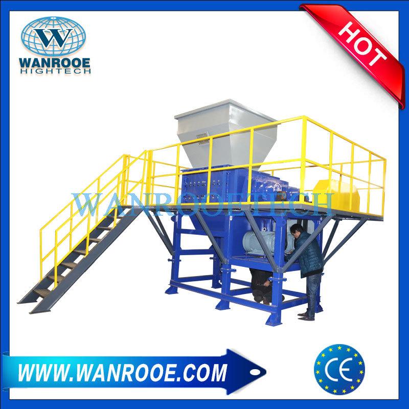 PVC Flooring/ Teflon Waste/ Plastic Waste / Lumps Four Shaft Shredder