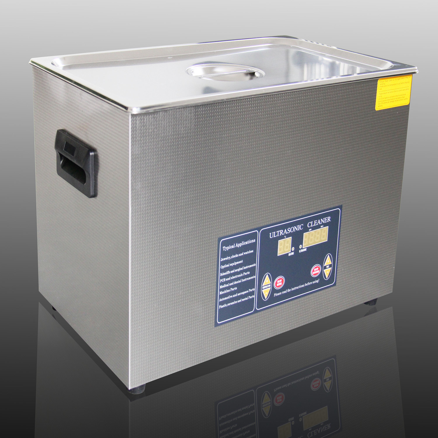 14L Tense Ultrasonic Cleaner Heating Function for Smaller Auto Parts (TSX-360ST)