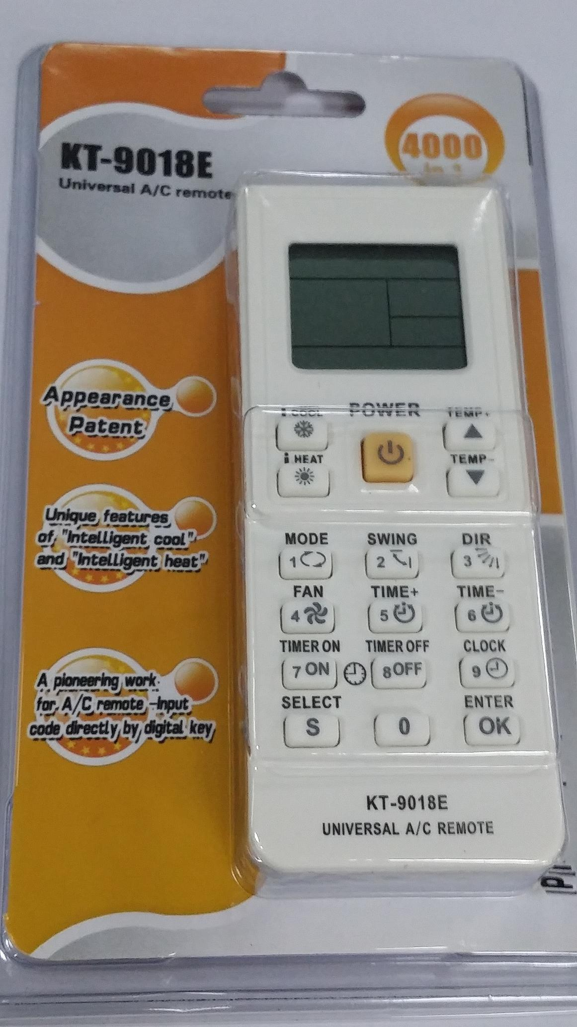 Air Conditioner Universal Remote Control