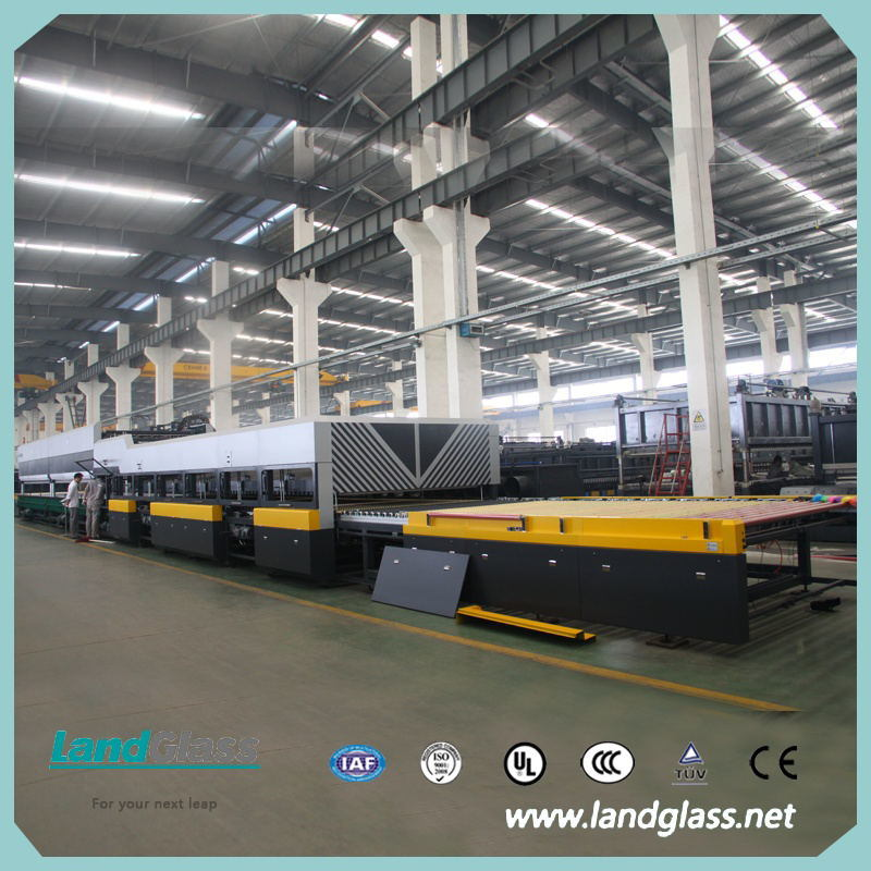 Landglass Force Convection Low-E Glass Tempering Machine
