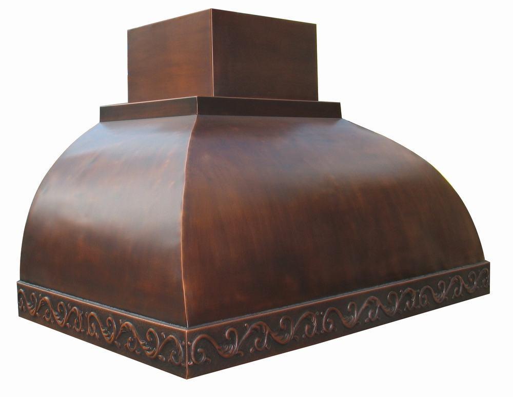 Copper Range Hoods ~ China copper range hood crh sm ces
