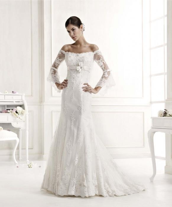 Wedding Dress Lace Overlay Sleeves - Wedding Dresses In Jax