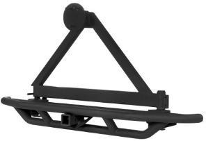 Rear Bumper with Spare Tire Carrier