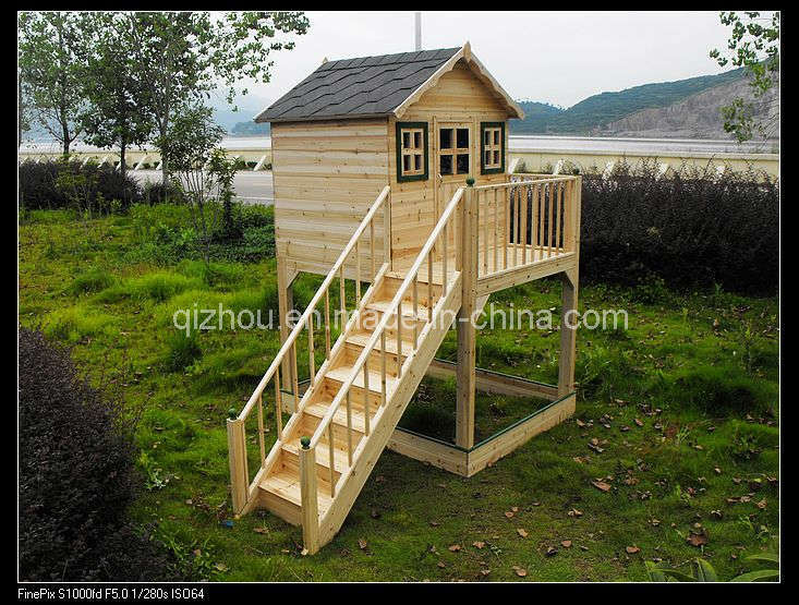 Wood playhouse plans house plans home designs for Wooden playhouse designs