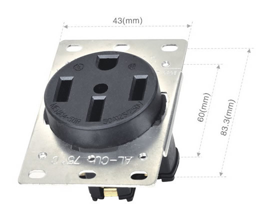 042145001 NEMA American industrial socket