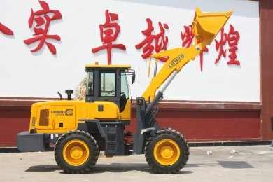 Middle-Size Wheel Loader Pilot Control