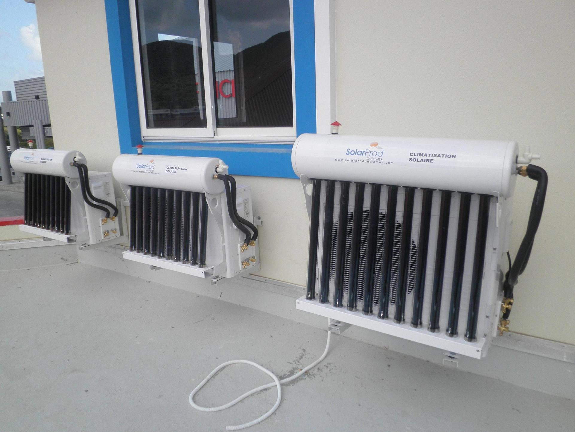 how solar air conditioner work pdf