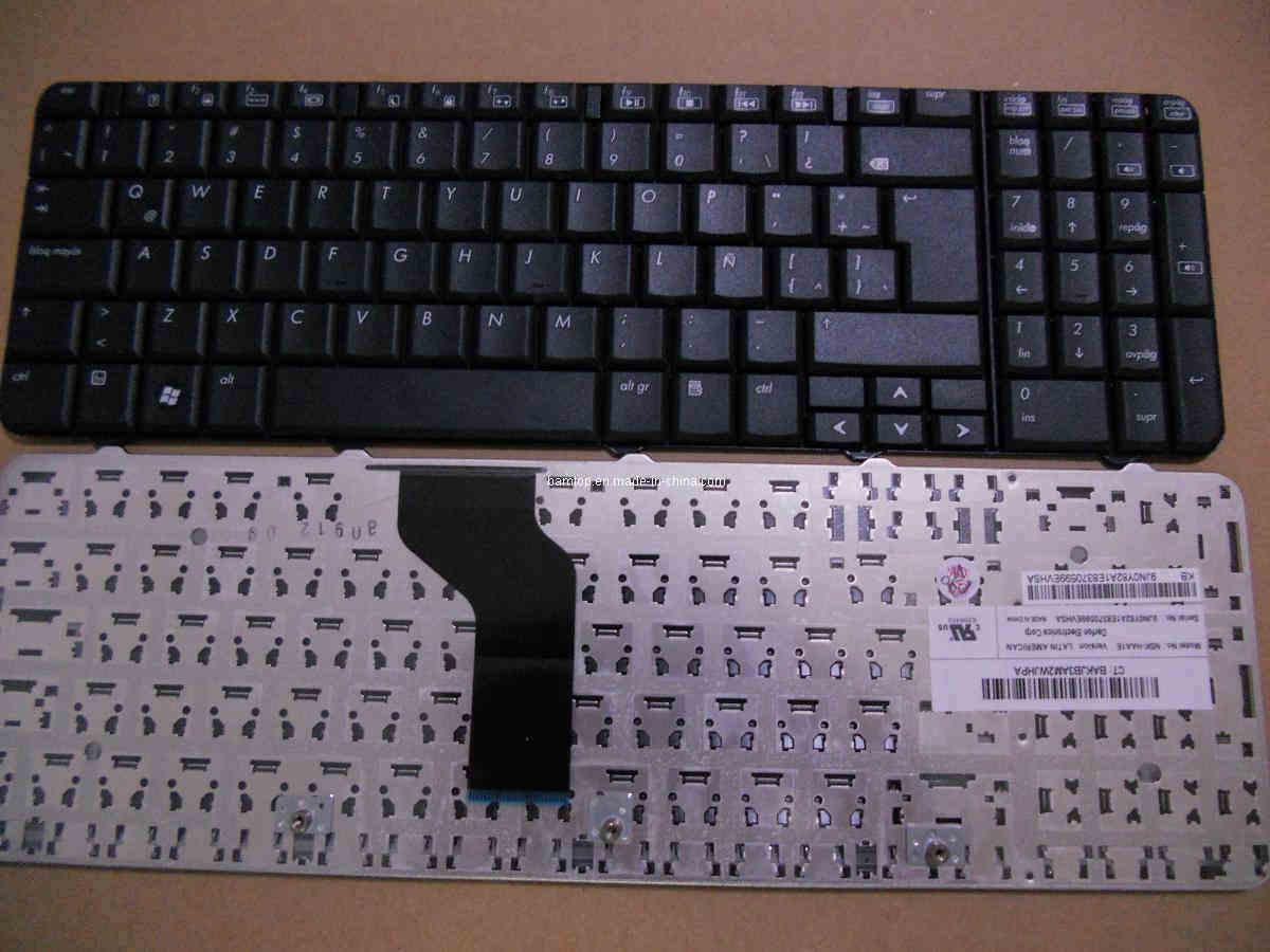Laptop Keyboard Teclado for HP CQ60 Negro En Espanol - China Nsk-Haa0s